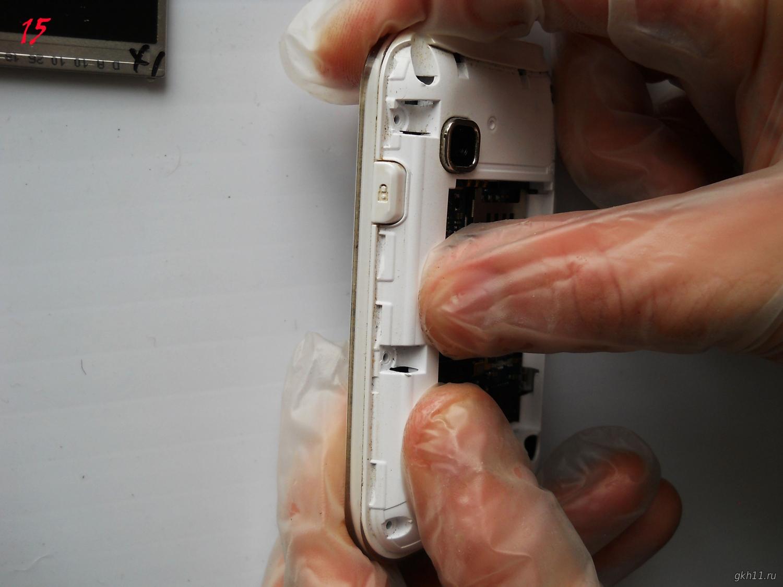 Замена тачскрина (сенсорного стекла) своими руками 8